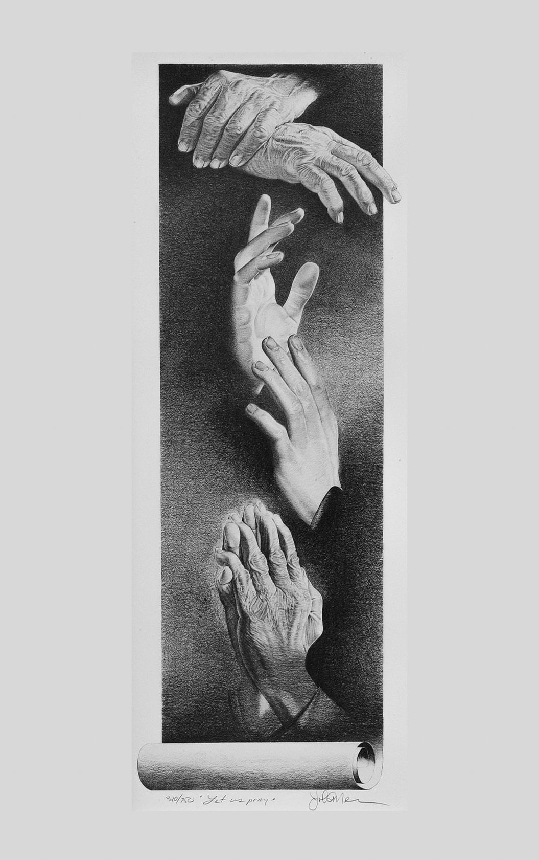 hands draw